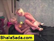 Two British babes have fun with each other