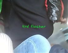 Flashing dick to Desi Hyderabadi burqha babe on train part1