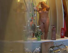 the blond angel - shower and soap