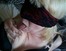 mature 53yr old blonde wife
