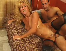 Mature blonde pussy ages like fine wine