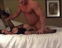 amateur business woman gets fuck in her house
