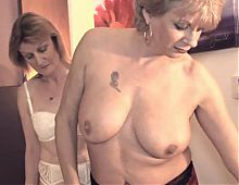 Chambermaid threesome