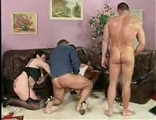 German mature orgy