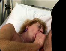 Anal threesome with Granny..