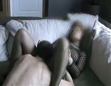 Hot threesome with big hard cock
