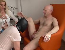 sadobitch &amp perverser ficker - day 2 - threesome.mp4