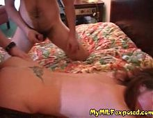 My MILF Exposed Swinger wife threesome Sissy husband watches