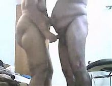 Hidden cam cught mom and dad home alones