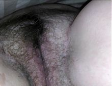 Secret video of my wife's sweet hairy pussy