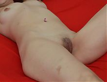 Fingering mature pussy until orgasm