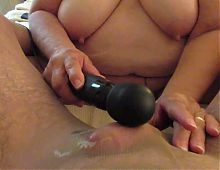 getting some help to cum in pantyhose