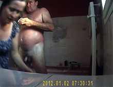 My aunt shower voyeur spycam