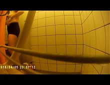 Presi (is showering  (hidden action cam) complete movie
