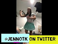 Mommy Jenn spanks naughty boy - cosplay outfit