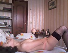 Mature russian woman loud fucks with her husband