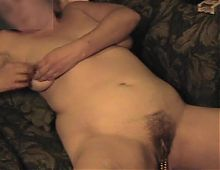 Suzi Edmunds nude: vintage nipple rings and clit clip bbw
